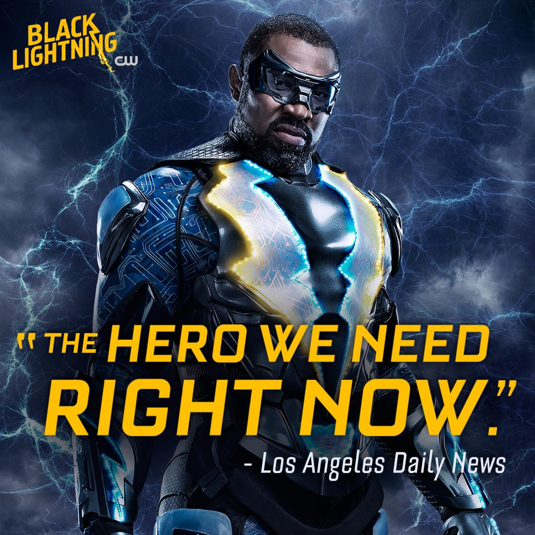 He won't let anyone down. Watch #BlackLi...