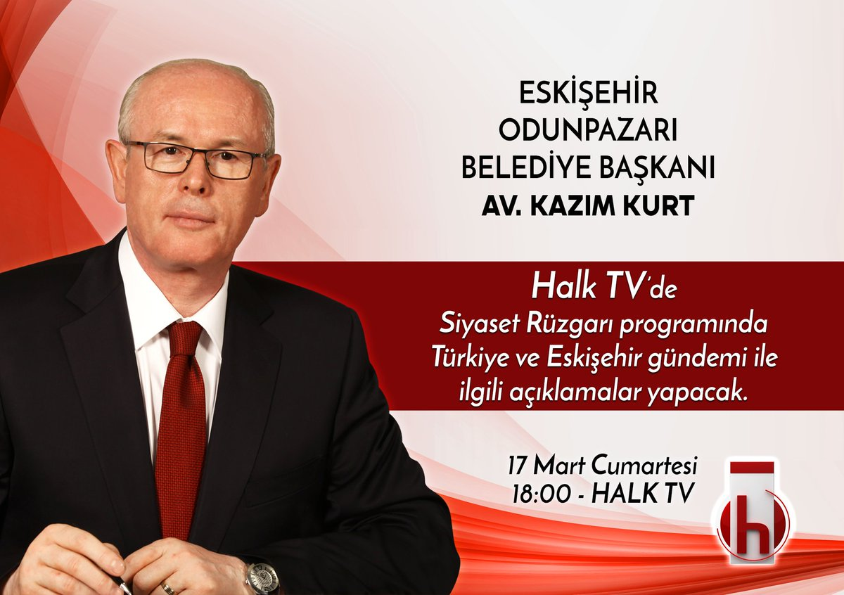 17 Mart Cumartesi 18.00'de Halk Tv'de, T...