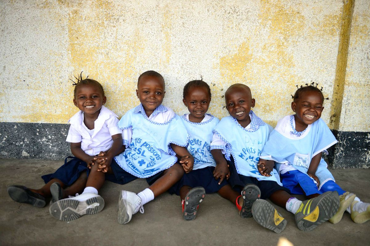 Weekends are for friends ❤️💛💚💙  #ForEveryChild, friendship!  Thanks @UNICEFDRC