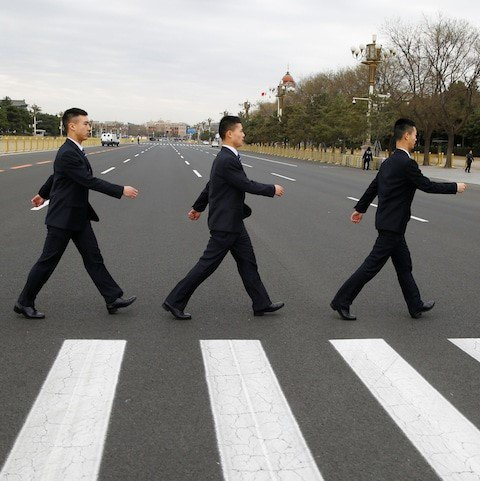 The Beatles with Chinese characteristics...