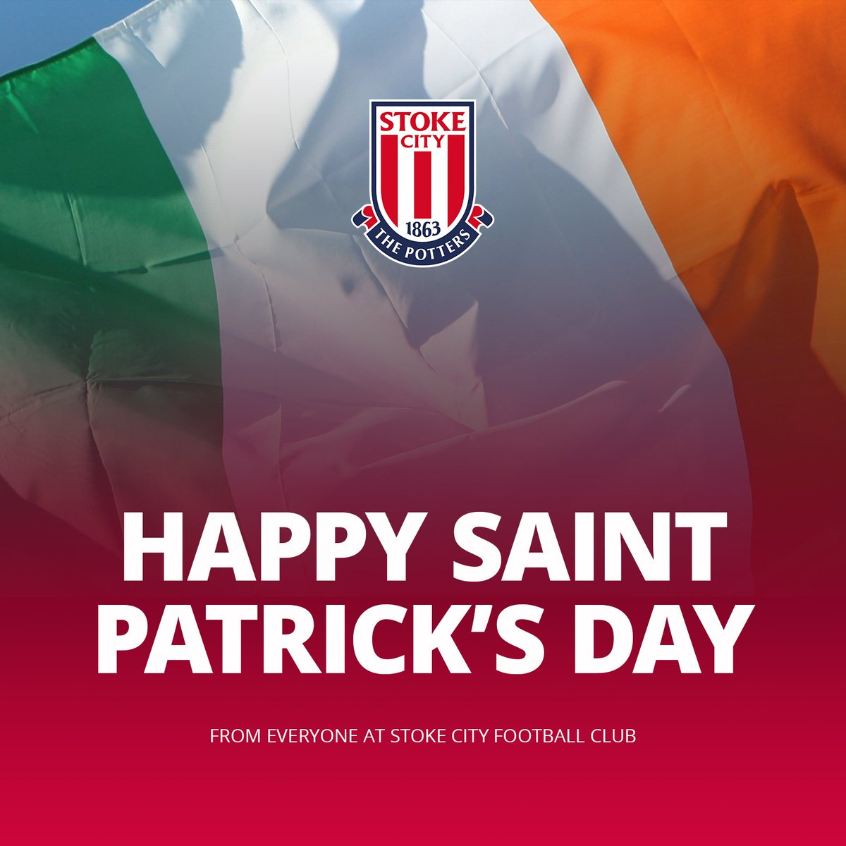 🇮🇪 Happy St. Patrick's Day to our Irish Potters!  #SCFC 🔴⚪️