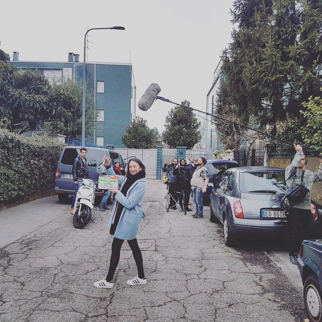 Shooting day5 #ilterzoindizio 🔜 https://...