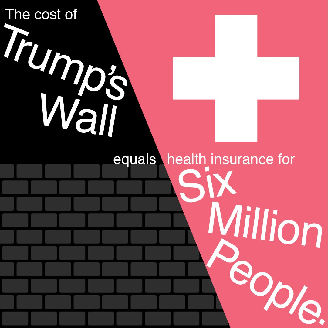 .@realdonaldtrump's ridiculous wall. #DefundHate #DreamActNow