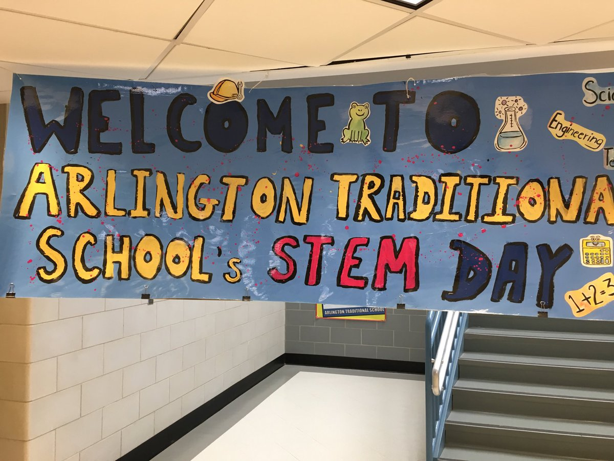 Science Fair Project Exposition, Hands-on Classroom Activities, and Magical Math Tour Assembly for STEM day at ATS! <a target='_blank' href='https://t.co/w3NjJRtdRi'>https://t.co/w3NjJRtdRi</a>