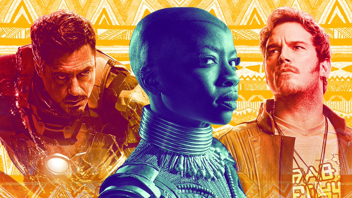 As excited as we are to see the #Avengers and Guardians in #InfinityWar, #BlackPanther's Okoye isn't exactly happy about it. Here's what @DanaiGurira told us on set.  https://t.co/TzqOEPoSdf