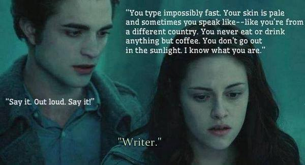 'Say it. Out loud. Say it.'  #writerslif...
