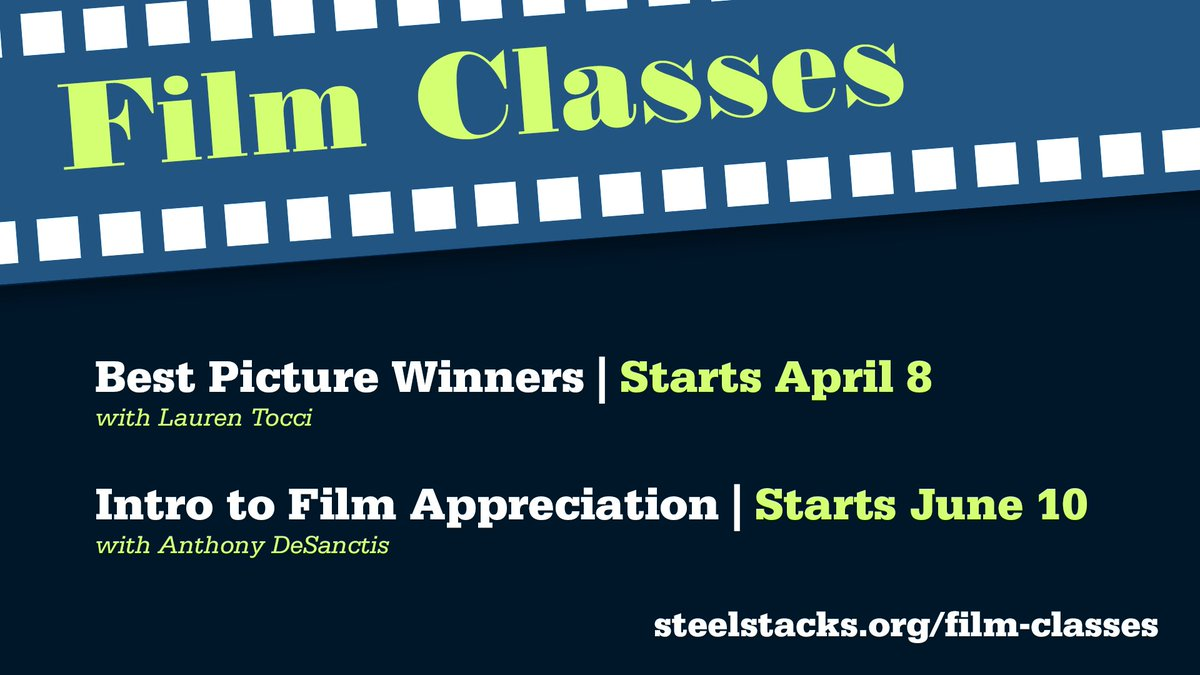 FILM APPRECIATION CLASSES start soon! Info: buff.ly/2IsA5wb