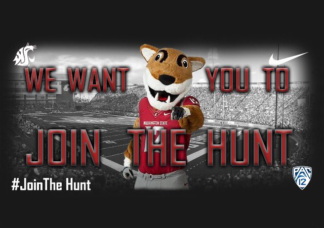 Happy Friday from WSU! #GoCougs #JoinTheHunt