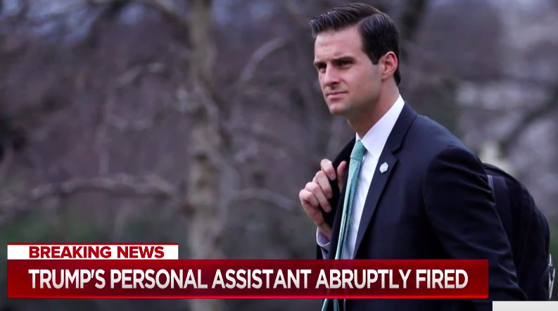 Trump's Personal Assistant Fired For Being A Degenerate Gambler: https://t.co/yyBibkFosT