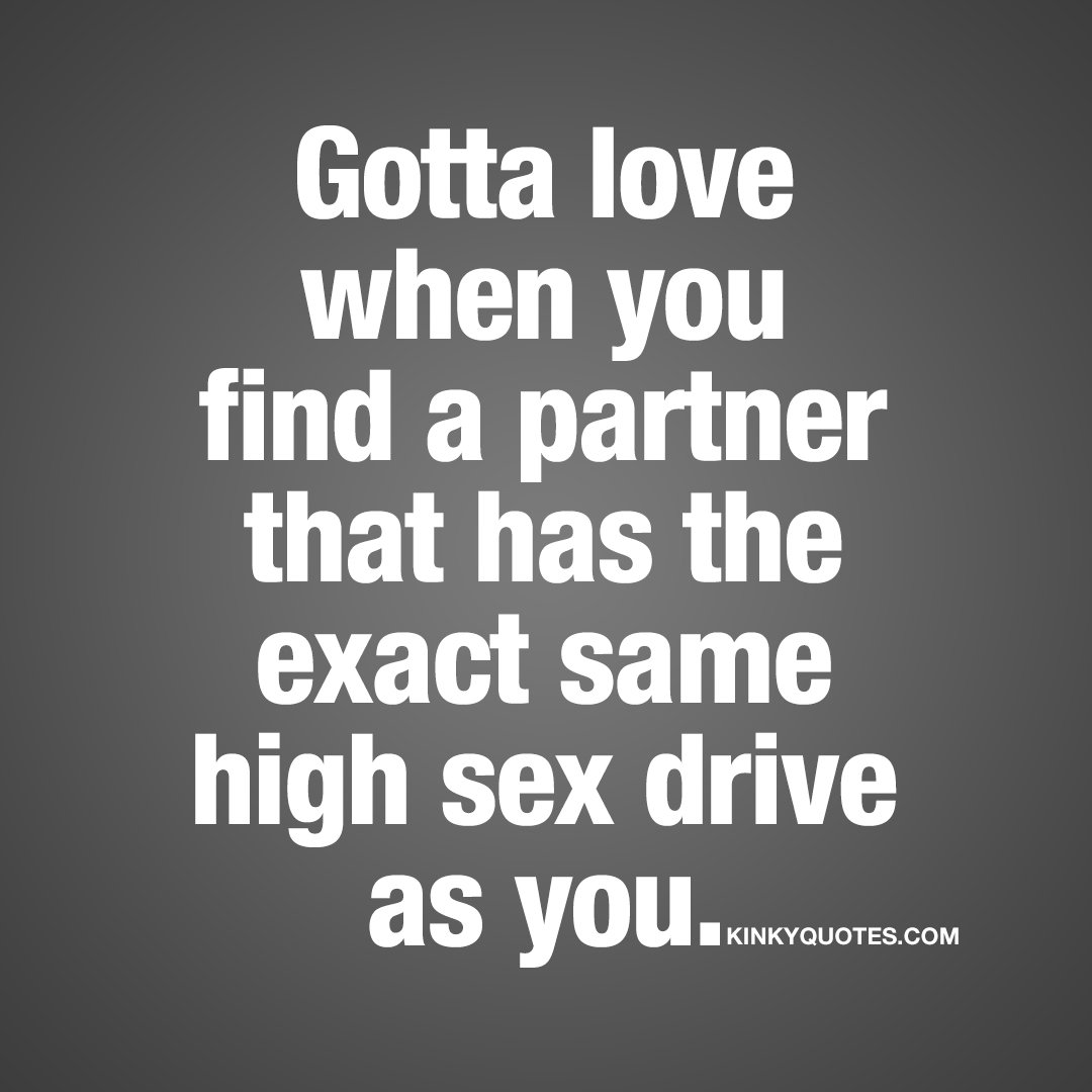 What is a high sex drive