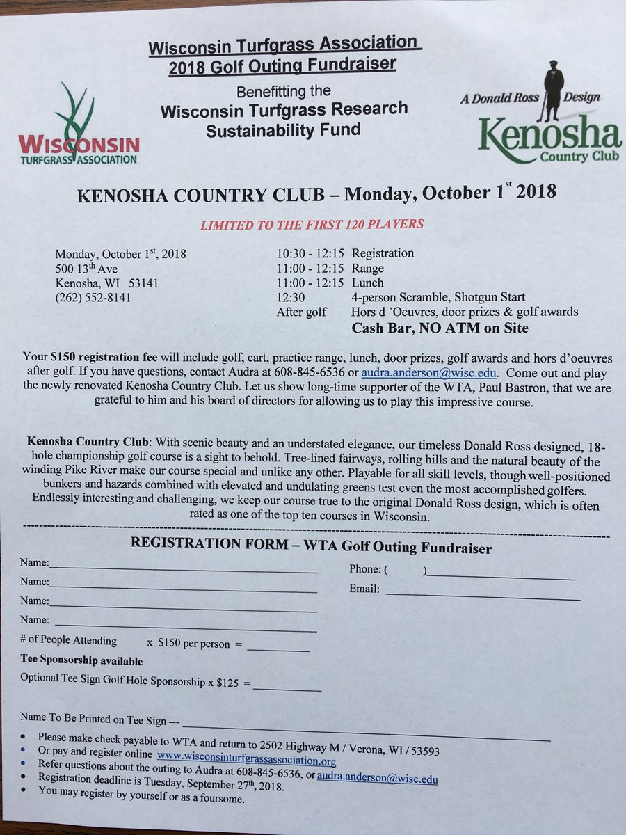 Wisconsin turfgrass wtaturf twitter it could be a long year plan to join us for wta fall golf classic at kenosha cc monday oct 1st more info at httpwisconsinturfgrassassociation solutioingenieria Gallery