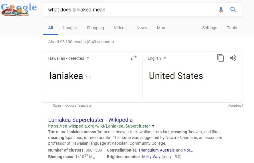 laniakéa hashtag on Twitter