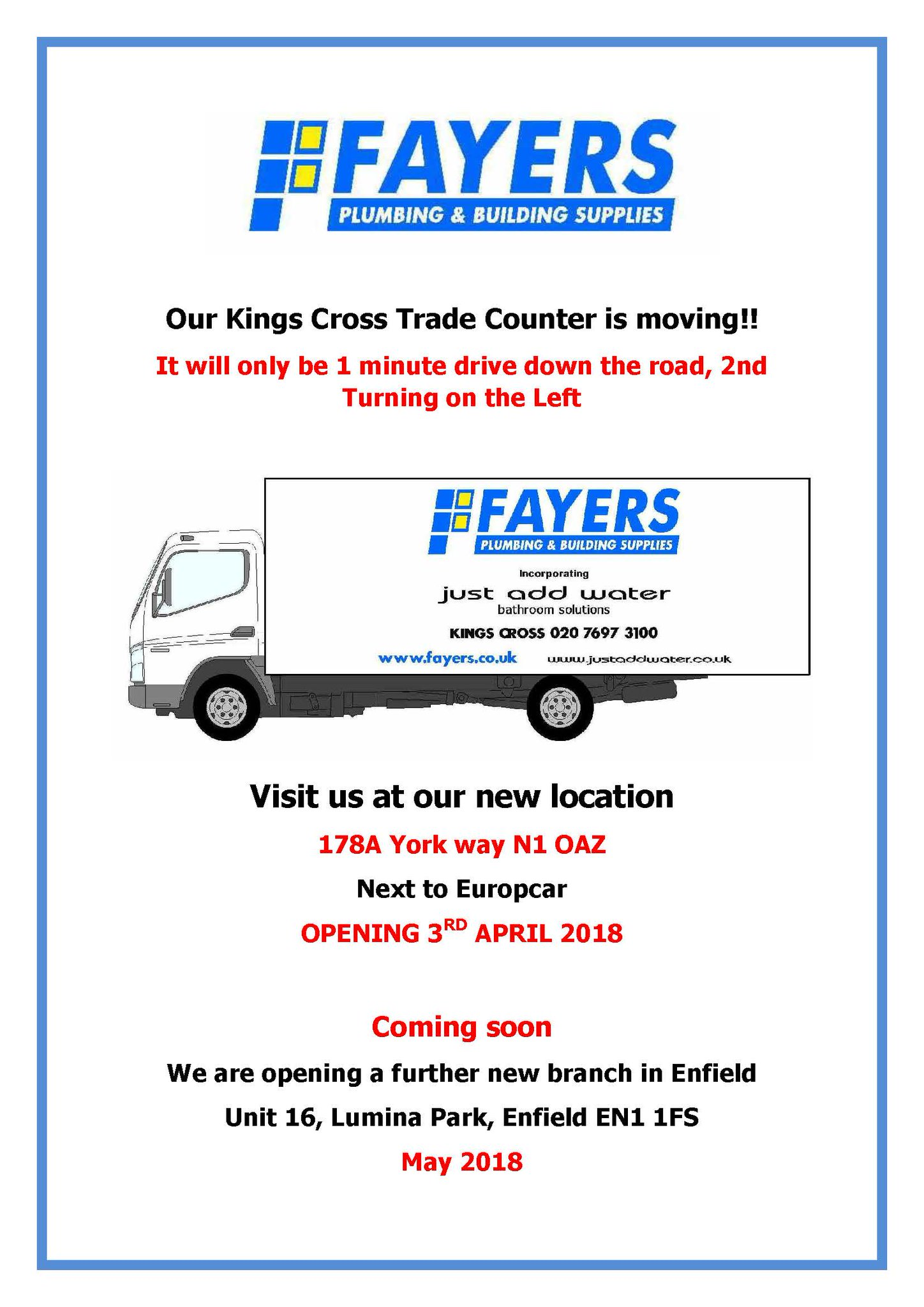Fayers Plumbing On Twitter Have You Heard Our News Our Kings