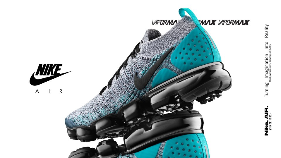 new concept 8a887 e892e breed Vapormax Flyknit adds support protective capability ...