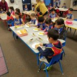 Image for the Tweet beginning: #LoaraLeopards Kinder students in Ms.