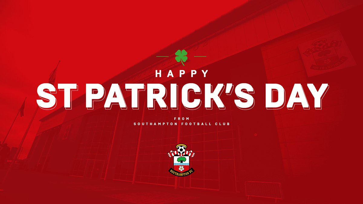 We're wishing a happy #StPatricksDay to all the #SaintsFC fans celebrating!