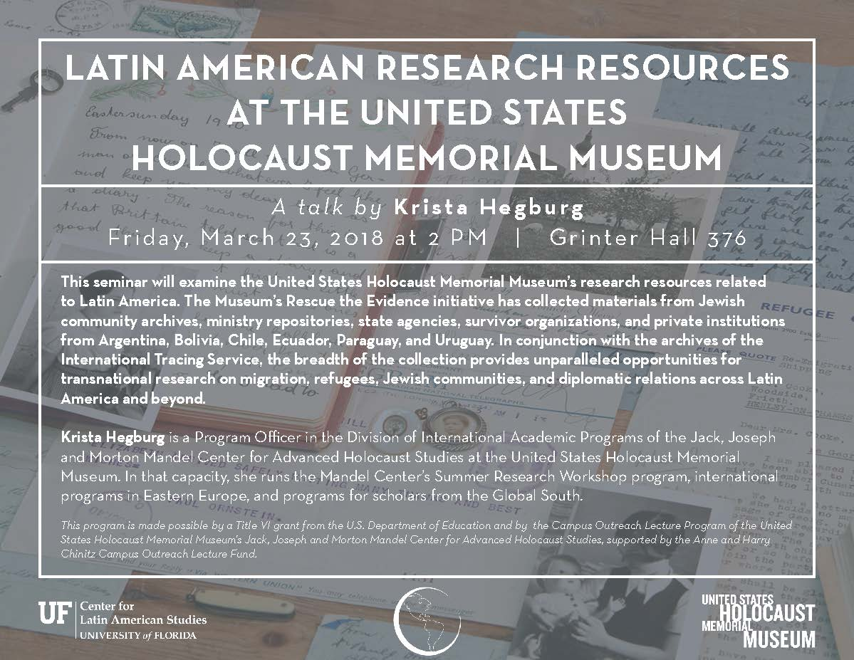 Uf Calendar Of Events.Uf Latam Studies S Tweet Next Week Is Packed With Some Great