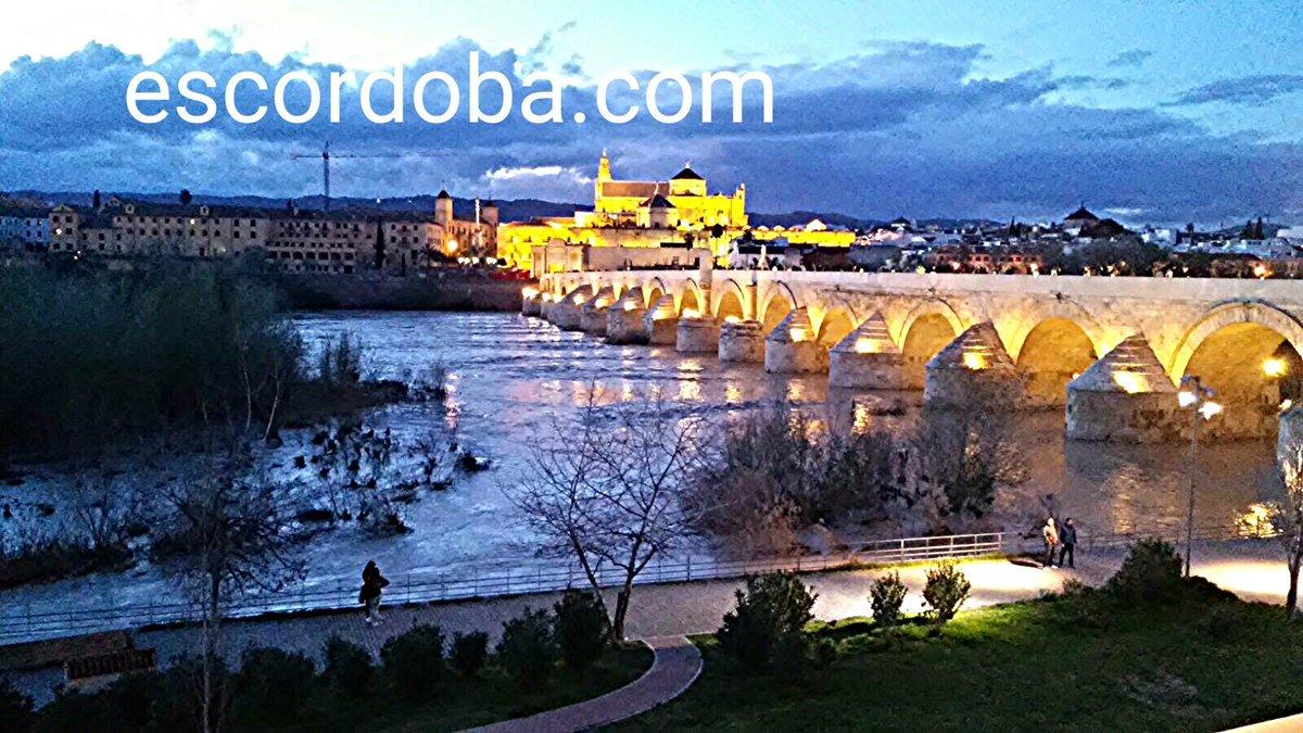 Anochece sobre Córdoba. @guiacordoba @co...