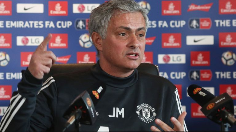 Jose Mourinho slams Manchester United's 'lack of personality and desire'