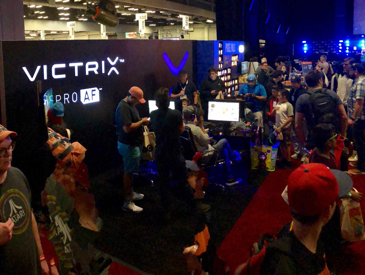 At @SXSW? We are hosting scrims near the entrance! Come check out our booth and experience the #ProAF.