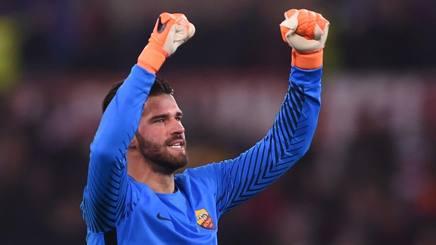 #Roma #Alisson: 'Lusingato dal #RealMadrid. #Barça? Non siamo favoriti' https://t.co/3c9SxbvmDS #serieA #roma