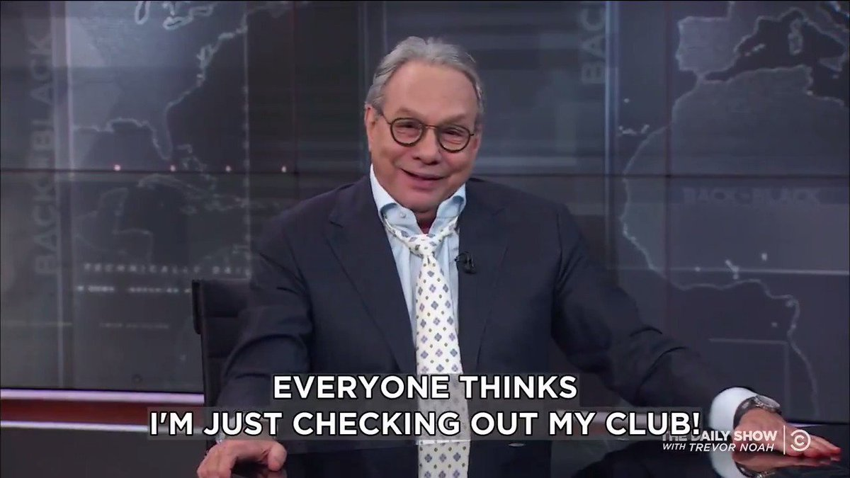 .@TheLewisBlack breaks down a Trump pres...