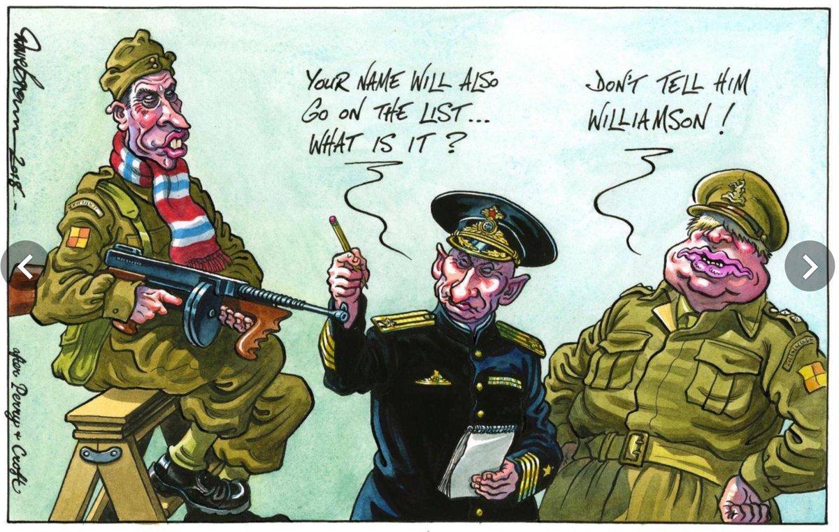 карикатура Путин и Борис Джонсон