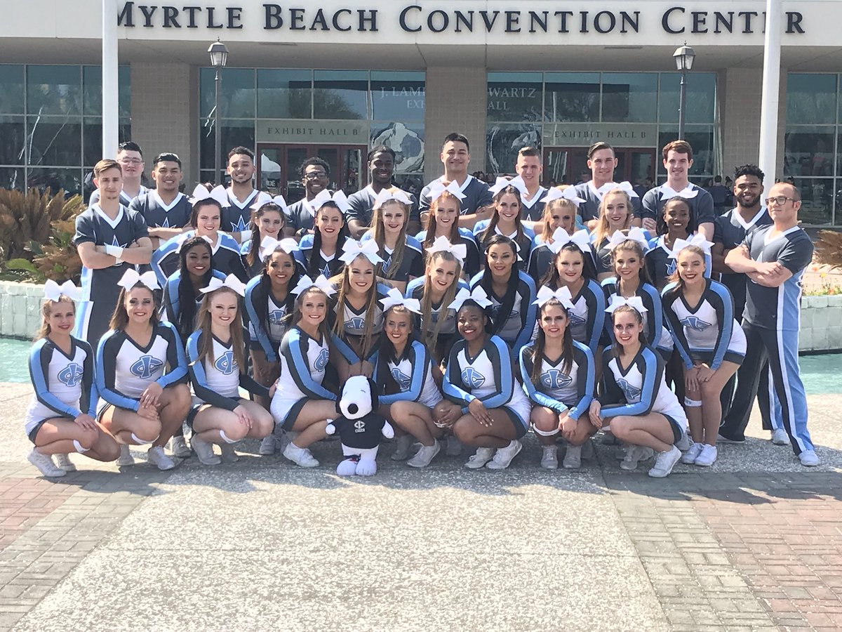 205ed4ebde3 We made it to the Myrtle Beach Convention Center. We are excited to be here at  Cheer Ltd. Nationals at Canam with both of our squads  Tritons  AllGirl ...