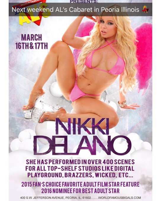 Getting ready my lovers 💃💦Meet me live tonight and Tom night at AL's Cabaret in Peoria Illinois 💃 https://t