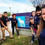 Image for the Tweet beginning: #compassionateSA UTSA students spend spring
