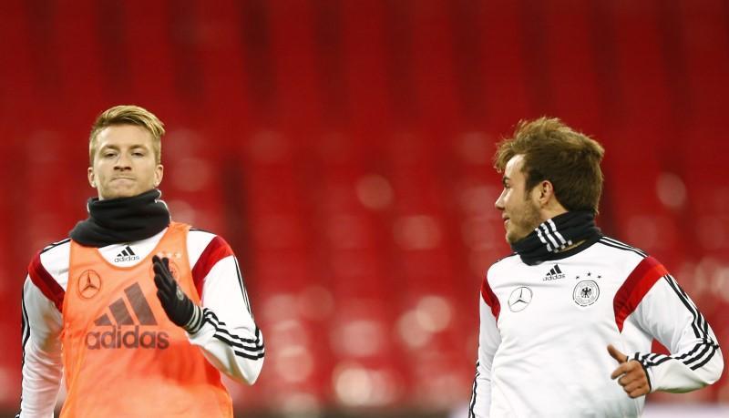 Goetze e Reus não estarão em amistosos da seleção alemã com Brasil e Espanha https://t.co/87ih8n3fYe #sportsNews