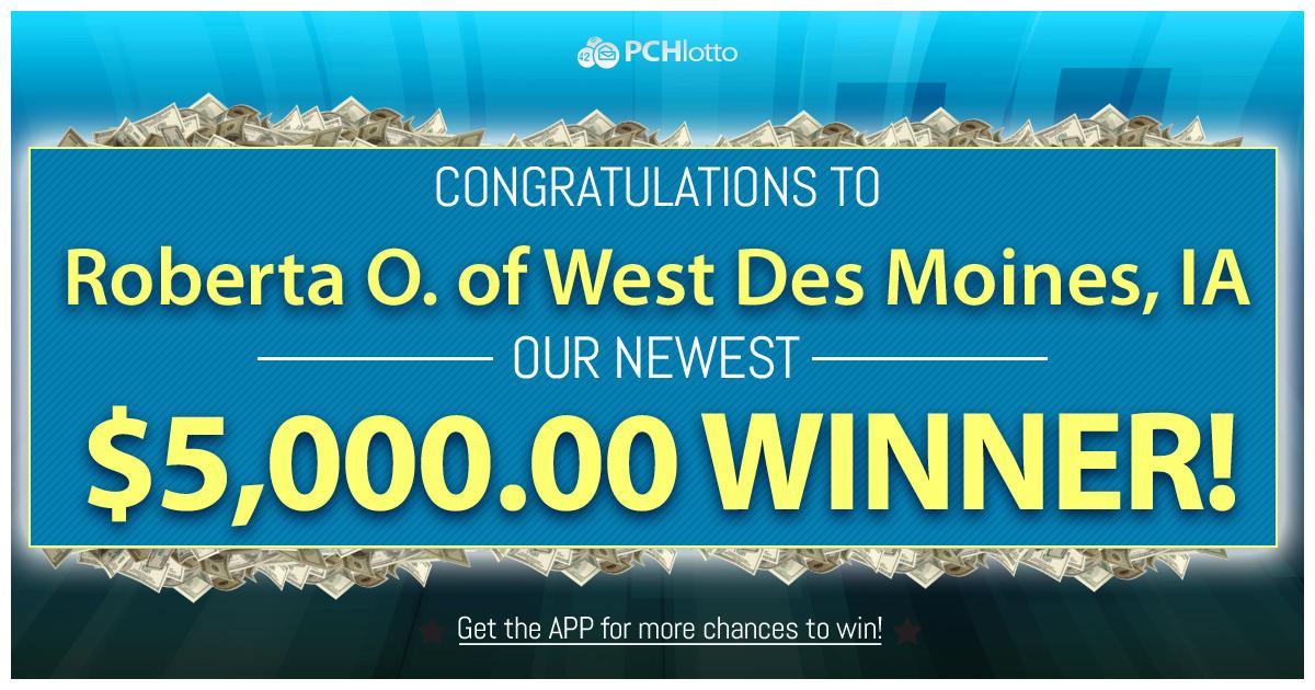 Pch Lotto Winners List