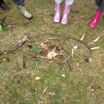 Reception had a super time reading the dinosaur facts, making dinosaurs of clay and natural materials @hartsholmepark