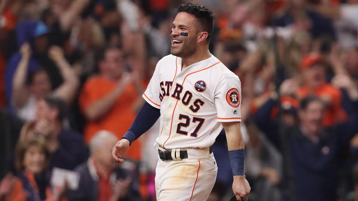 .@JoseAltuve27 nearing 5-year, $150M extension with the @Astros, @brianmctaggart reports. https://t.co/R6W688yxBE 👀