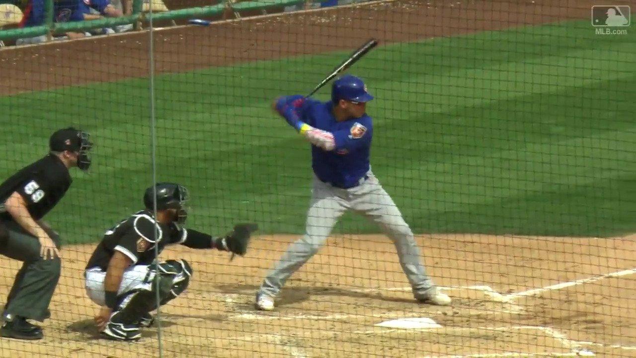 Whoa Willson, that's #Crushed.  PS: Nice bat toss. https://t.co/jR8kcqsF7n