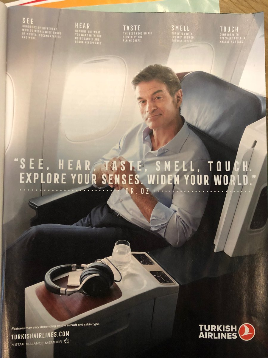 I don't see how this ad would make you want to fly this airline