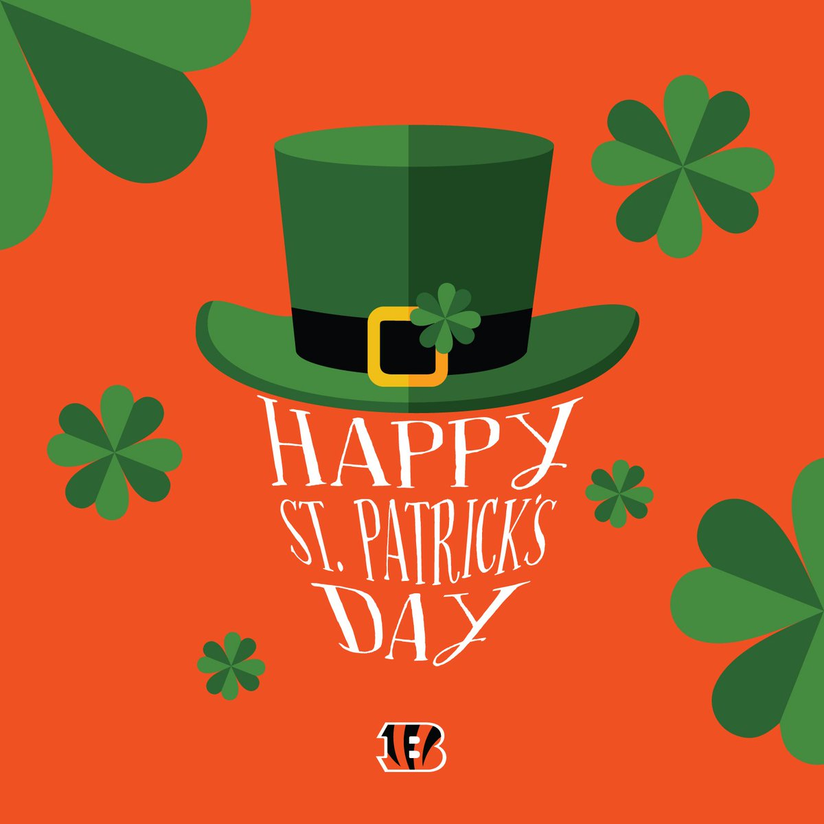 Cincinnati Bengals On Twitter The Flag Of Ireland Is Green White And Orange We Can Dig It Have A Happy And Safe St Patrick S Day Who Dey Fans 900 x 675 jpeg 431 кб. cincinnati bengals on twitter the