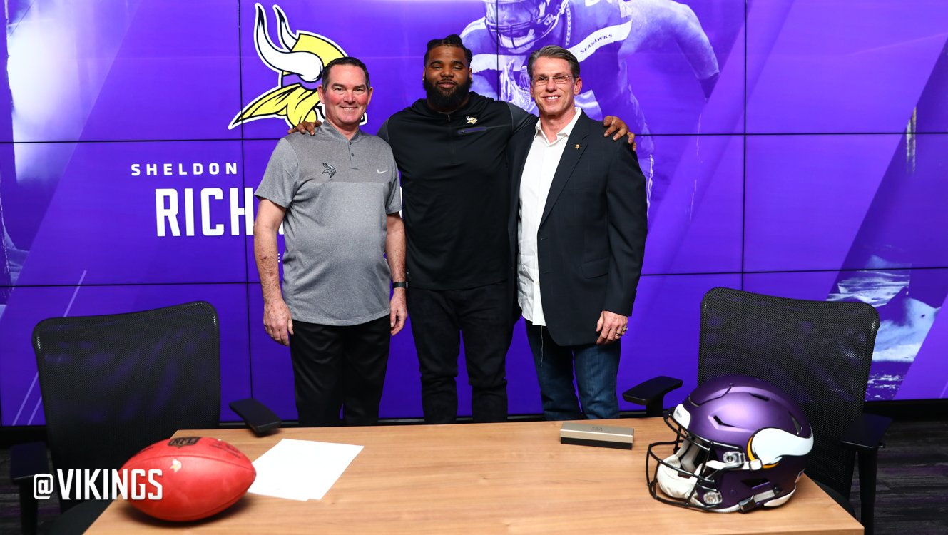 Welcome to the #Vikings, @SdotRich91! https://t.co/Ux2ud8Qkqy
