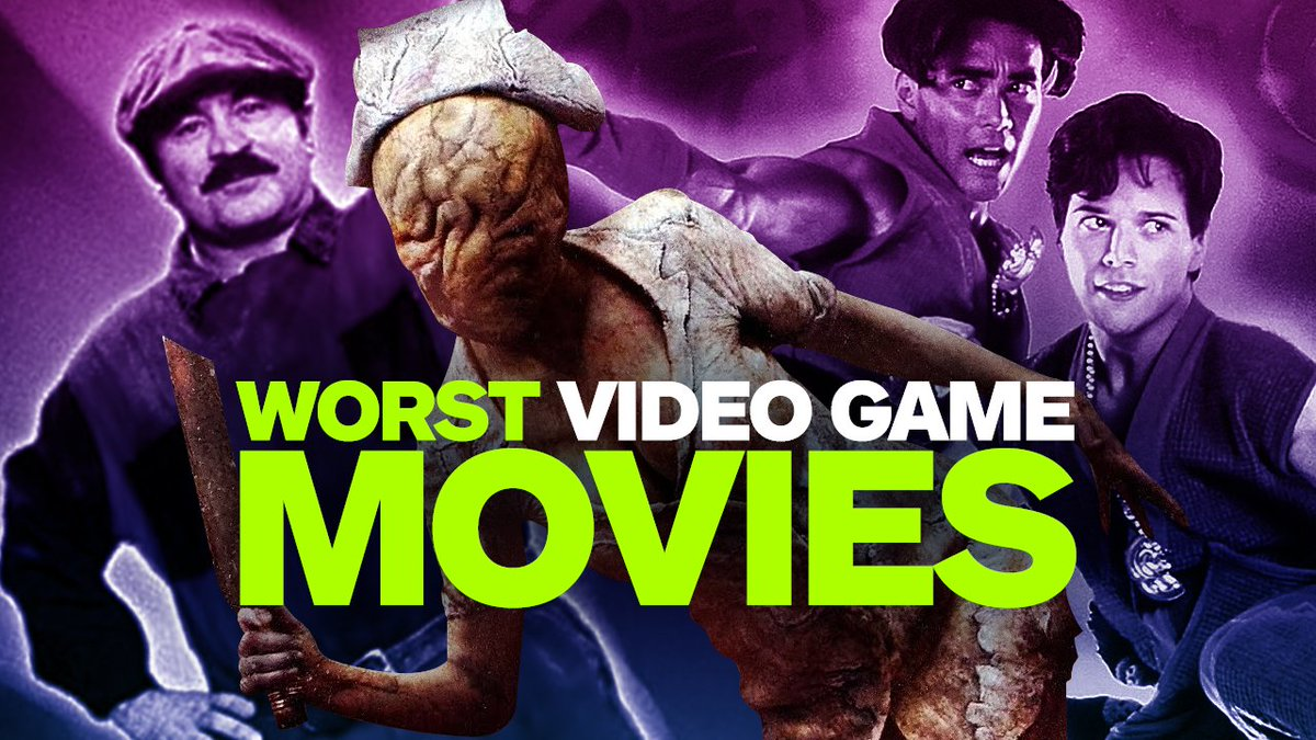 From Super Mario Bros. on down, these are the 12 worst video game movies ever...  https://t.co/wt4z2jIN6p