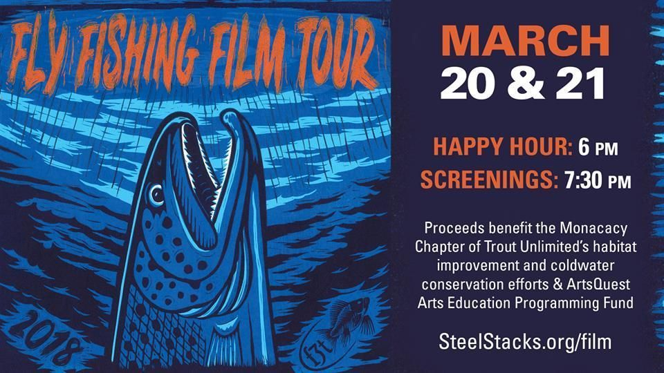 Swim down the Lehigh River to see the FLY FISHING FILM TOUR at the Frank Banko Alehouse Cinemas at @SteelStacks TUESDAY & WEDNESDAY! Info: buff.ly/2IfcK1h