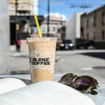 Sippin' our way into the weekend. #BlenzCoffee