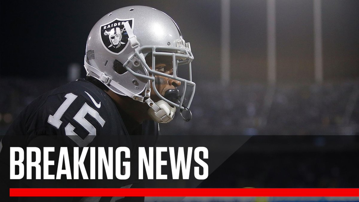 Breaking: WR Michael Crabtree reached agreement on a three-year deal with the Baltimore Ravens.