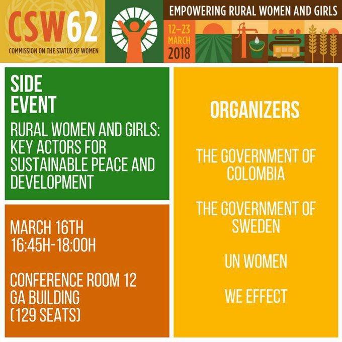 #CSW62 twitter.
