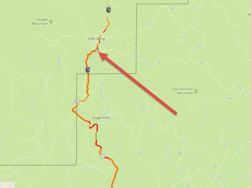 Expect delays if you're head to Yosemite National Park on SR-41, as crews are currently working to free a bus from snow. Chain control is in effect just south of Fish Camp.
