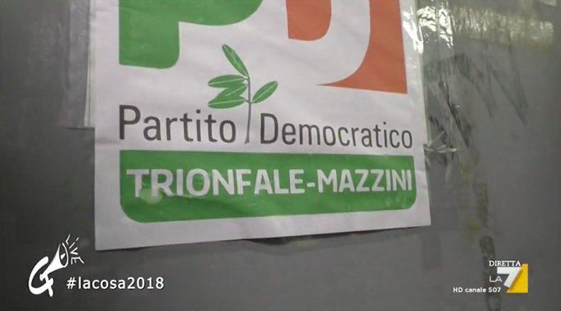 Le immagini dal circolo Mazzini di Roma,...
