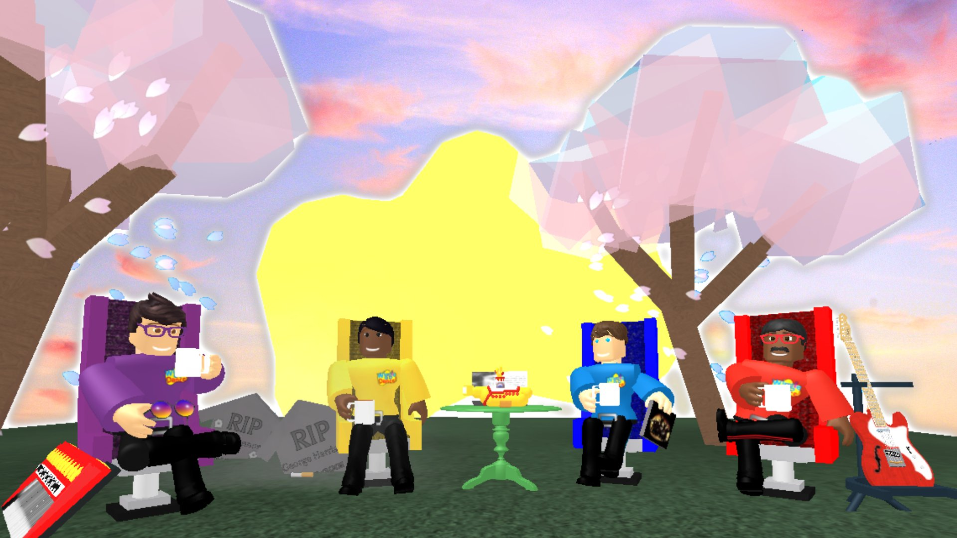 Wiggle Dance Roblox On Twitter The Peace Is In Your Mind