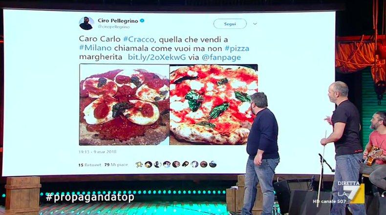 Il caso della pizza margherita di Cracco...