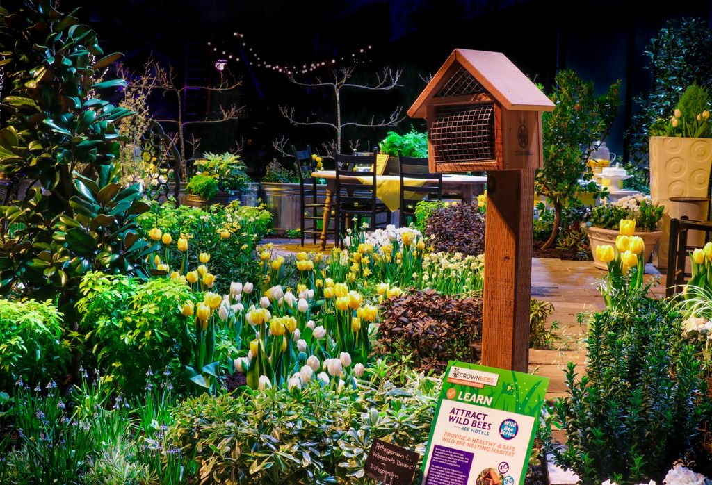 A #bee Friendly #garden That Won Our Environmental Award At The @nwfgs  Northwest Flower U0026 Garden Show In Seattle Last Month!  Https://buff.ly/2GsKtnd ...