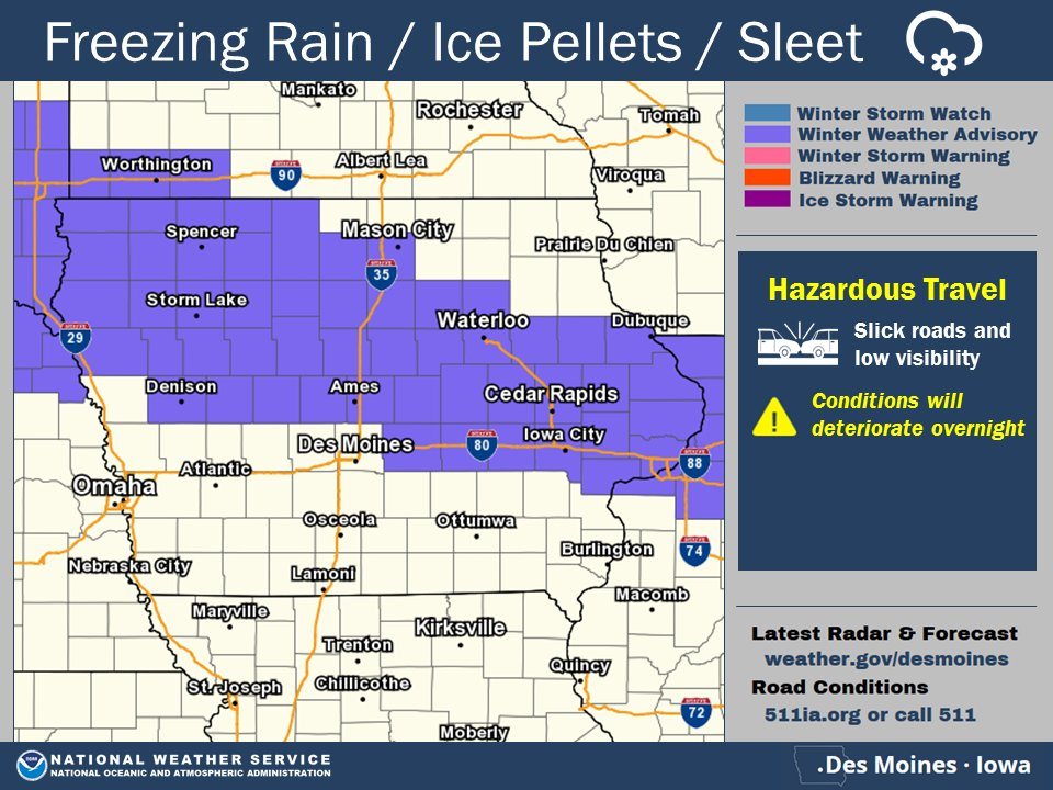 7:20 pm cdt: a few more counties have been included in the winter ...