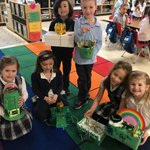 Image for the Tweet beginning: Kindergarten students thought leprechauns had